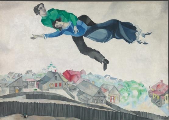 Marc-Chagall-Sulla-cittàA